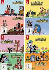 8 DVDs * PAULI DER KLEINE MAULWURF - 4 x 2 DVDs IM SET # NEU OVP +