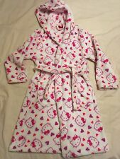 Girls Hello Kitty Dressing Gown - Age 7-8