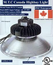 M.T.C Canada LED High Bay Light UFO Premium 200W 28000lm 6k CUL Input AC347-480V