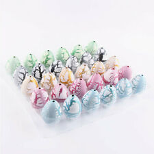 30pcs Magic Dinosaur Hatching Eggs Educational Toy Kids Gift for Children White