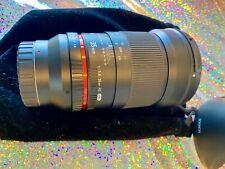 Rokinon 35mm F/1.4 AS UMC Wide-Angle Manual Focus Lens - Samsung NX Mount