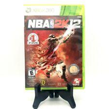 NBA 2K12 Michael Jordan Microsoft Xbox 360 Game And Case Very Good Free Shipping