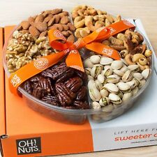 Kosher Certified Thanksgiving Gift Basket, Roasted Nut Variety Fresh Assortment