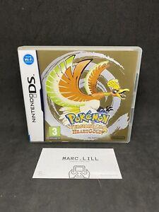 Pokemon Heartgold Versione Oro x Nintendo DS 2DS Lite Italiano Boxato Come Nuovo