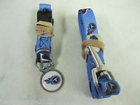 Hunter Tennessee Titans Pet Collar, Lead and ID Tag Combo Set, -Small