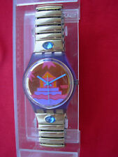 SWATCH gent RARA AVIS - 1991 - GV103 - with metal strap - New + pila gratis