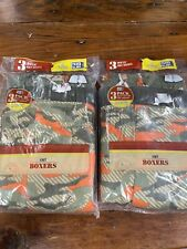 Boys Camo Boxers Size 8/10 6 Pair New In Package Faded Glory