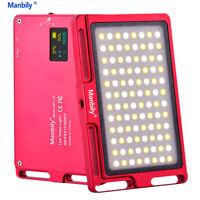 Manbily Mini LED Video Camera Light Dimmable 96 LED Photographic Lighting Lamp