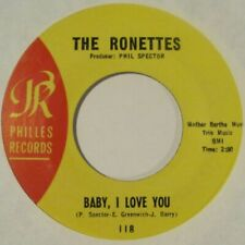 """(45) (Hear) The Ronettes - """"Baby, I Love You"""" - Girl Group / Pop / Soul (1963)"""