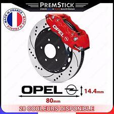 Kit 4 Stickers Etrier de Frein Opel ref1; Auto voiture autocollant