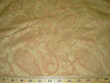 """~BTY~FABRICUT~ DAMASK """"PAISLEY"""" ~WOVEN DRAPERY UPHOLSTERY FABRIC FOR LESS~"""