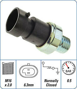 PAT Premium  Oil Pressure Switch   OPS-128  suits VE with 2 pins