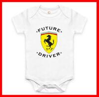 RARE FUTURE FERRARI DRIVER BABY ONE PIECE FUNNY BODYSUIT ROMPER. EXPLORE NOW!