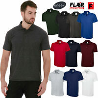 5 Pack Uneek  UX1 UX Polo XS-4XL Multi Colours Unisex Men Women Plain Poloshirt