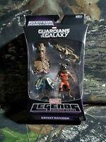 NEW SEALED MOC Marvel Legends ROCKET RACCOON Groot BAF HEAD Guardians Galaxy AG