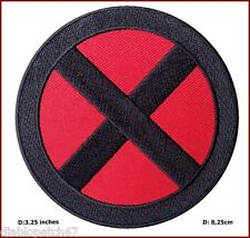 X-men Storm Red Black Applique Costume Cosplay Patch