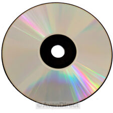 10 New Spin-X 48x Silver Top Black Bottom 700MB CD-R in Paper Sleeve [FREE SHIP]