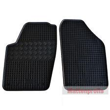 Esteras de goma tapices de goma 2 piezas para VW Polo 9n 9a a partir del año 10/2001 - 2009