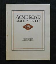 1927 ACME MACHINERY COMPANY