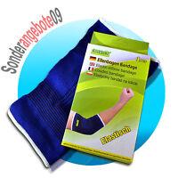 2x Universal Ellenbogen Stütz Bandage Ellenbogenbandage Tennisarmbandage Golfarm