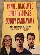 Broadway Play Mailer Advertisement 2018 The Lifespan of a Fact Daniel Radcliffe
