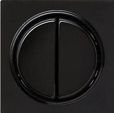 Gira S-Color schwarz, SERIENWIPPE ohne Schalter 029547