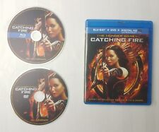The Hunger Games: Catching Fire (Blu-ray Disc, 2014, 2-Disc Set) free shipping