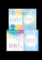 Fearne Cotton 4 Book Set Collection - Happy, Calm, Calm The Journal, Quiet
