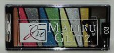 MALIBU GLITZ Illuminator Eyeshadow & Blush Palette 8 Shades #03