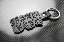 Fiesta SUPERSPORT Leather Keyring Schlüsselring Porte-clés Mk1 Ford Super Sport