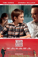 EXTREMELY LOUD AND INCREDIBLY CLOSE MOVIE POSTER DS Style B NEW !!  TOM HANKS