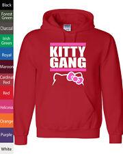 Kitty Gang Hello kitty tgod xo Taylor Gang wiz khalifa NEW Hooded Sweatshirt