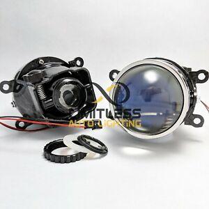 "Universal 3"" Blue Lens HID Bi-xenon Projector Fog Light with Hi/Lo Beam LHD"
