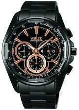 WIRED Men's Chronograph Watch AW8009X By SEIKO