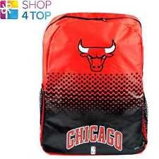 Chicago Bulls Baloncesto Club Mochila Bolsa De Viaje Equipo Oficial Nuevo 04fa4e9b547