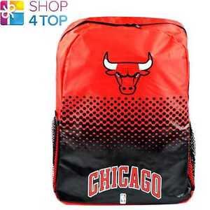 Chicago Bulls Basketball Equipe Sac à Dos Voyage Sac Équipe Officiel Neuf