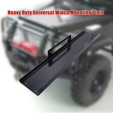 Winch Mounting Plate 13000 lb Capacity Mount Bracket Truck Trailer ATV