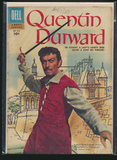 Four Color #672, Quentin Durward, 1955 Dell Movie Classic Comic Book, Low Grade