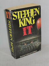 Stephen King IT-Special Collector's Edition Paperback 1987 Ultra Rare -1 of 2000