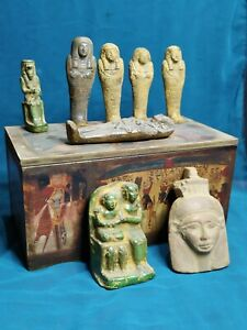 The Box of Secrets is a rare piece of ancient Egyptian civilization