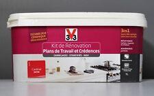 """Kit de Rénovation V33 Plans de Travail et Crédences 1L """"cardinal"""""""