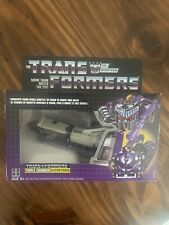 Transformers G1 DECEPTICON ASTROTRAIN Triple Changer Walmart Reissue