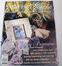 Somerset Studio Magazine Sept/Oct 1998 Paper Ornaments Jan Owen Color Theory