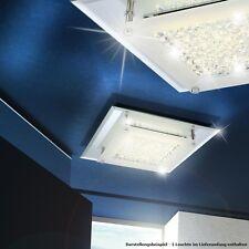 12 Watt LED SALON LUMINAIRE DE PLAFOND cristal transparent couloir bain lumière