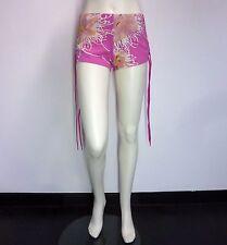 EVISU DONNA broekje hot pants M roze NIEUW+LABELS ap:€100