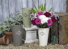 Tin Country Decorative Vases