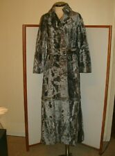 Vintage Crushed Velvet Gothic Steampunk 2 in 1 Coat Maxi Mini or Knee Length