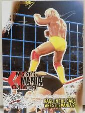 WWF WRESTLEMANIA 2 HULK HOGAN SUPERSTARS CARD 83 FLEER 2001 WWE WRESTLING