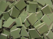 Light Mint Green Broken Mosaic China Plate Tiles