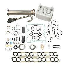 Upgraded Oil Cooler Gaskets Kit & Egr Delete Kit For 03-07 Ford 6.0L Powerstroke